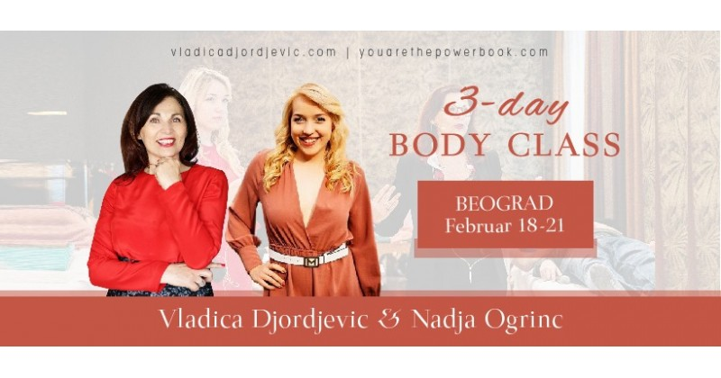 3-day Body Class with Nadja Ogrinc and Vladica Djordjevic
