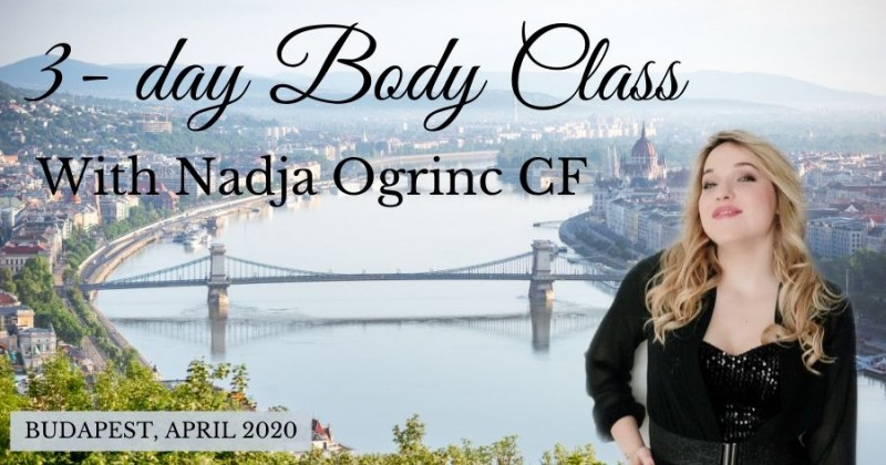 Access 3-day Body Class with Nadja Ogrinc in Budapest, Hungary