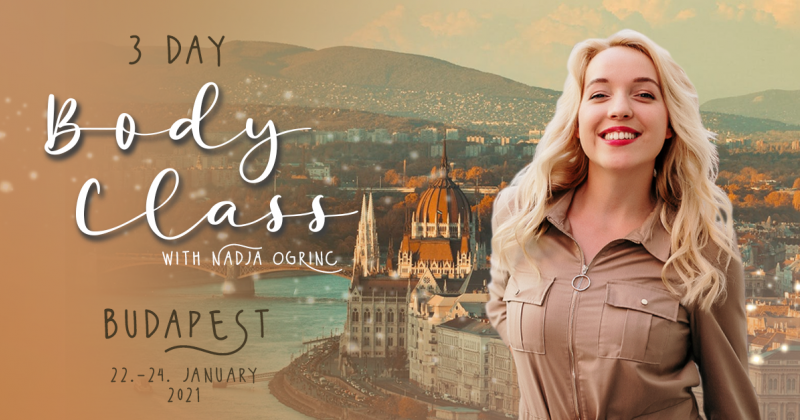 Budapest: Access 3-day Body Class with Nadja Ogrinc